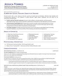 Pre K Teacher Resume Fresh Substitute Example Examples Of Resumes 22 Beautiful