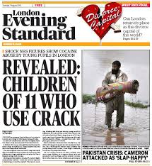 Children As Young 11 Are Taking Crack Cocaine In London According To NHS Figures Released Today Full Story