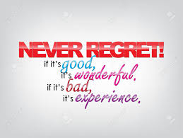 Typography Poster Never Forget If Its Good Wonderful Bad Experience