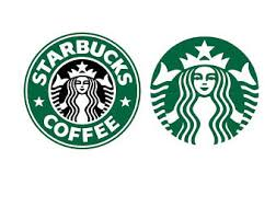 Starbucks Logo SVG Files DXF Cutting Cut Instant Download