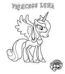 Princess Cadence Coloring Pages My Little Pony