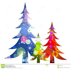 Whoville Christmas Tree by Retro Christmas Trees Clip Art Royalty Free Stock Photos Image