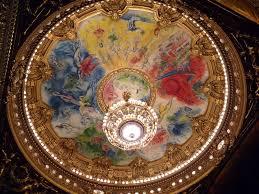 opéra garnier plafond de chagall photo de incontournables