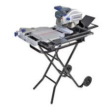 kobalt 7 in slide tile saw with stand master bath ideas