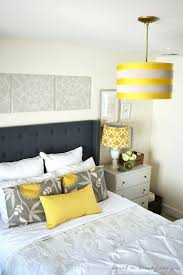 Yellow Gray And White Bedroom Ideas Part