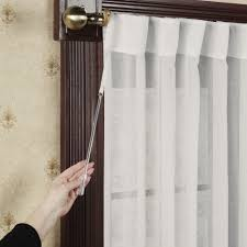 Sidelight Curtain Rods Tension by Curtains 45 Inch Curtains Short Window Curtains For Bedroom Door