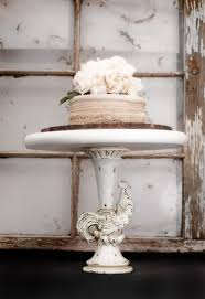 Distressed To Look Rustic And Antique Ceramic Pedestal Cake Stands Are Very Popular Because They Can Be Elaborate Or Simple In Design Color