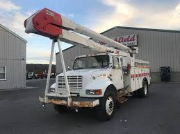 1999 INTERNATIONAL 4700 BUCKET BOOM TRUCK FOR SALE #604005