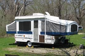 BangShift Haunted Pop Up Camper