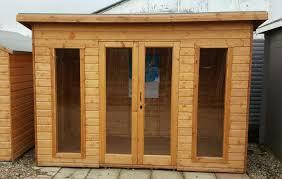 100 Modern Summer House 10 X 6 Pent Shiplap House