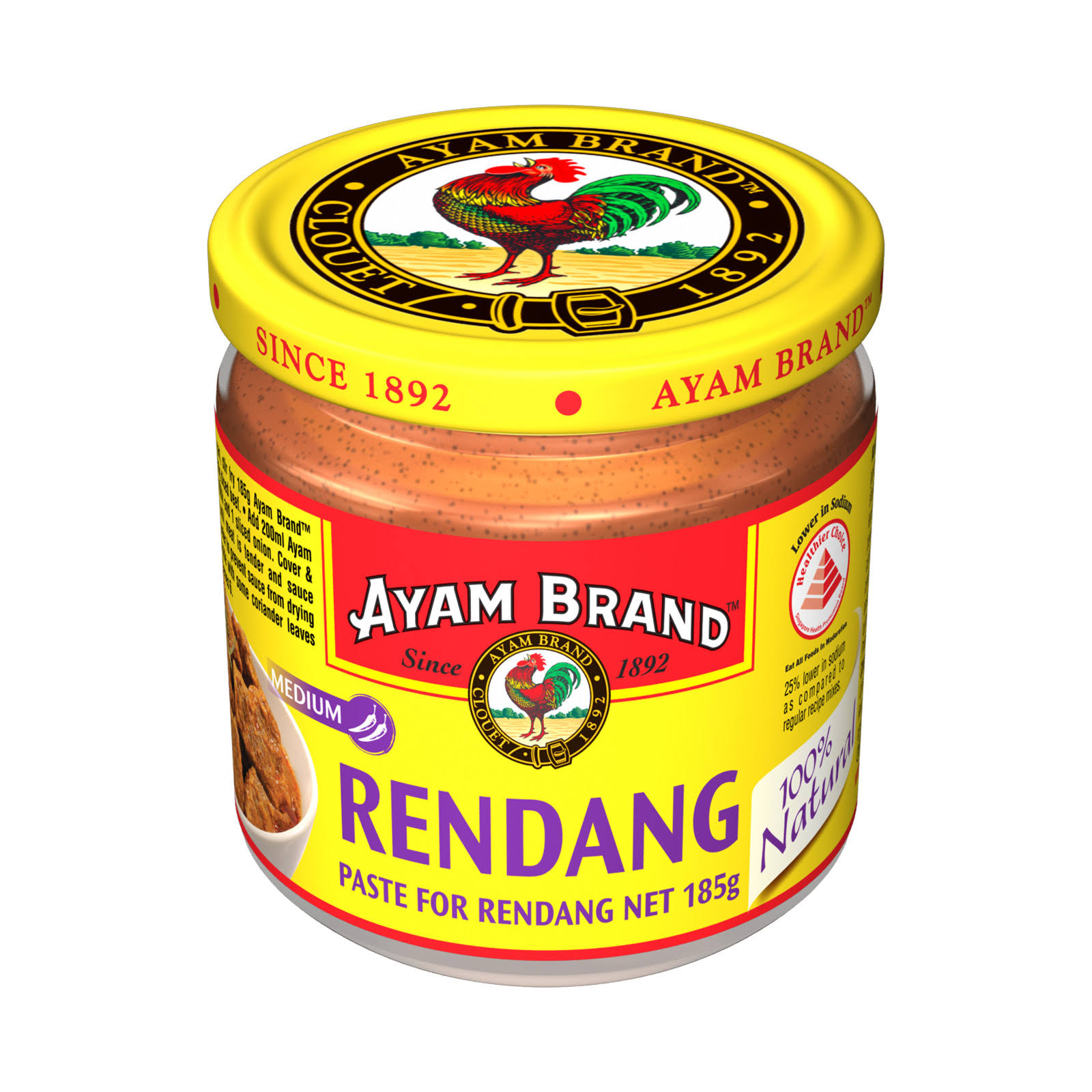 Ayam Curry Paste for Beef Rendang - 185g