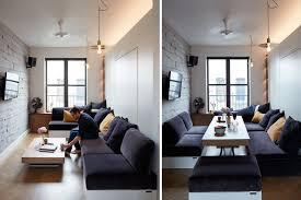 Studio Apartment Double Duty Living Room