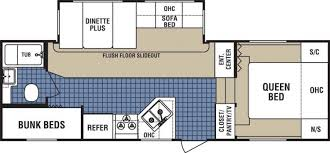 Fifth Wheel Bunkhouse Floor Plans by 2007 Dutchmen Dutchmen Fifth Wheel Rvweb Com