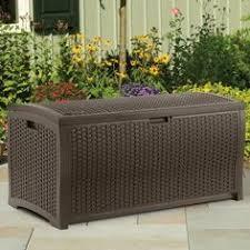 Suncast Outdoor Patio Furniture by Patio Furniture Cabinet Outdoor Deck Storage Garden Wicker