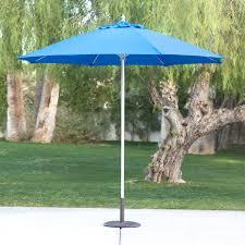 Tilt Patio Umbrella With Lights by Sunnydaze Solar Powered Led Lighted Patio Umbrella With Tilt And
