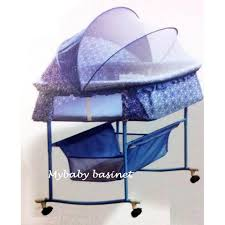 Bcute Luxury 2 in 1 function Swing & Rocking Bassinet with