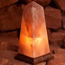 Himalayan Salt Lamp Pyramid by Himalayan Salt