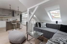 100 Loft Interior Design Ideas Modern Attic With Grey Palette Idea Maximizing