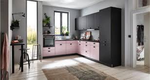 nolte kleine küche lavendel schwarz