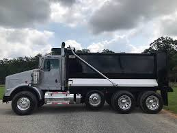 100 Kenworth Dump Truck For Sale 2016 T800 Tri Axle 455HP Paccar 8LL 16 Box 66 Sides