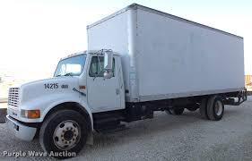 100 International Box Truck 2000 4700 Box Truck Item EM9250 SOLD May