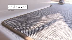 how to replace boat carpet with woven flooring youtube