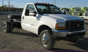 2000 Ford F550 XL Super Duty Dually Pickup | Item 8047 | SOL...