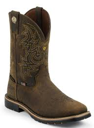 justin 2113 dune traction snake boot 17 inch