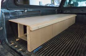 Truck Camper Setup: Building Tips For Your Camper Shell Conversion Side Shelve For Storage Truck Camping Ideas Pinterest Fiftytens Threepiece Truck Back Hauls Cargo And Camps In The F150 Camping Setup Convert Your Into A Camper 6 Steps With Pictures Canoe On Wcap Thule Tracker Ii Roof Rack System S Trailer The Lweight Ptop Revolution Gearjunkie Life Of Digital Nomad Best 25 Bed Ideas On Buy Luxury Truck Cap Camping October 2012 30 For Thirty Diy