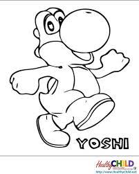 Super Mario Yoshi Printables