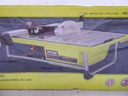 ryobi ws722 electric powered 7 tile saw power tool 563574 w44