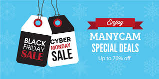 Black Friday And Cyber Monday Promotions Enjoy Black Friday Cyber Monday Deals Manycam