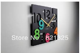 Modern Wall Clock Design Fine Kitchen Clocks Foter Designs