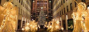 yuletide event rockefeller center tree lighting ceremony senior