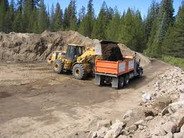 100 Truck Loader 10 Frontend Loader With 5 Cubic Yard Bucket Filling A Cubic Yard