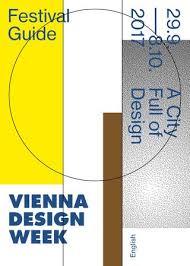 VIENNA DESIGN WEEK 2017 Guide English