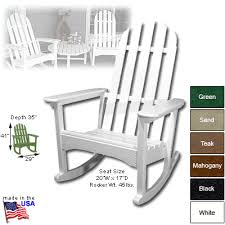 Polywood Adirondack Chair Cushions by Order Polywood Adirondack Rocking Chair From Shop Nc Com