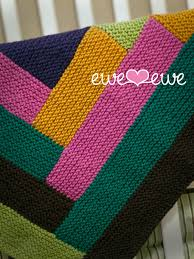 Cuddle Up Log Cabin Baby Blanket PDF Knitting Pattern — Ewe Ewe Yarns