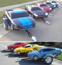 Now You Can Take A Corvette With Kind Of When Vacation Even If Youre Not Driving It American Custom Trailers Is Producing Line