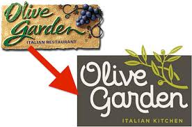 The Olive Garden and their new logo – CAOSH