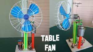 how to make a revolving table fan at home best out of waste