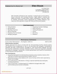 Administrative Assistant Resume 2016 Resume Example For
