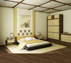 Japanese Bedroom Furniture Design Glass Wood Ceiling