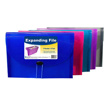 C-Line Products Expanding File - 7 Pocket