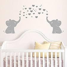Amazon Elephant Bubbles Wall Decal Nursery Decor Baby