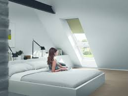 Schlafzimmer In Dachschrã Velux System Lichtband Gpu Sk08 St0w1 Bestehend Aus Gpu Giu