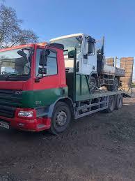 100 26 Truck Daf Cf 75 250 Bhp Ton Beaver Tail Plant Truck In Staplehurst Kent