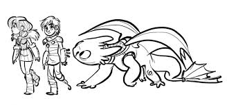 How To Train Your Dragon Coloring Pages 2