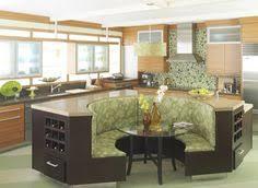 modern large kitchen booth seating design managing comfortable