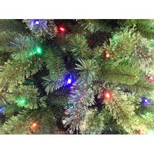 7ft Aspen Slim Christmas Tree by Artificial Christmas Tree Pre Lit 7 5 U0027 Cashmere Color Change